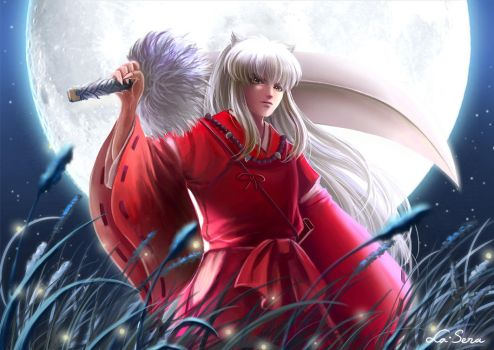 Inuyasha: Moonlight by la-sera