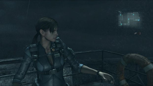 Jill Revelations - Waiting in The Rain by Mathematic-Hack