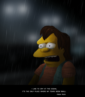 THE SIMPSONS: Nelson by aosFISH