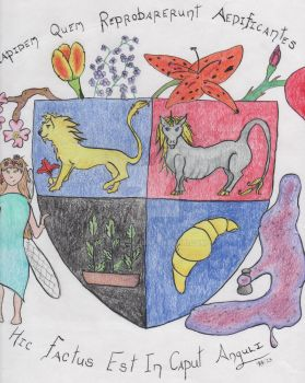 Emily's Coat of Arms by Eredien