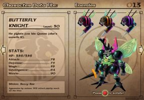 Castelaria Data File 13: Butterfly Knight by Nidaram