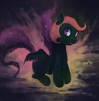 Nightmare Scootaloo by SirRailgun