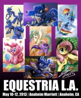 New Prints for EQLA 2013 by johnjoseco