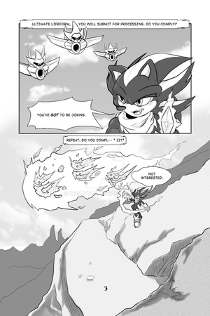 MMG: Issue #2 Page-3 by negathus