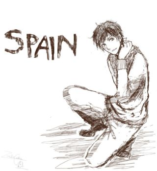 Spain... by LeZombieCookie