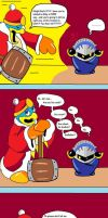Meta Knight's Secret by Nintendragon8