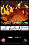 Double Rainboom's Fourth Promotional Poster by oxinfree