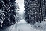 Frosty road by JoInnovate