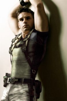 The real Chris Redfield by deexie