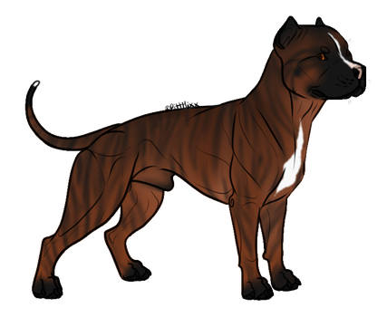 BrindlePittie : SOLD by OpticalColors