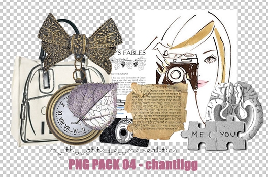 PNG PACK 04 by ChantiiGG