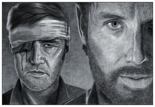 The Governor and Rick by NicksPencil