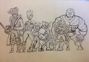 X-men sketch by st4ludicrous