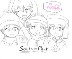South park - Boys smiled by steffanny