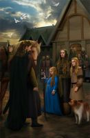 Theoden in the Aldburg,Eastfold by steamey