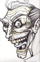 Joker sketch for painting by BfstudiosLLC