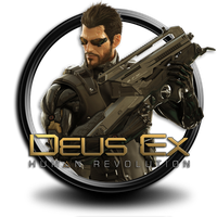 Deus EX  icon by S.7 by SidySeven