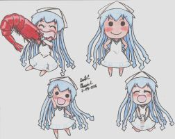 Mini Ika Musume by GreatMurasameLiger