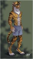 Tiger, Tiger COMMISH by 1skylight1