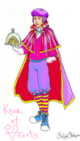 AiW: Knave of Hearts Design by SirLadySketch