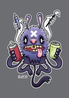 The God of Creative Juices by cronobreaker