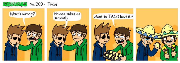EWCOMIC No. 209 - Tacos by eddsworld