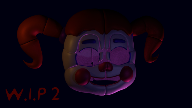 Circus Baby WIP 2 by NOIRESD