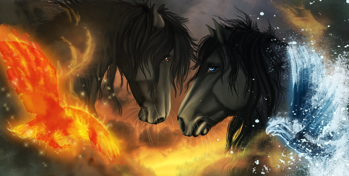 Clash of the elements by The-Vandalist
