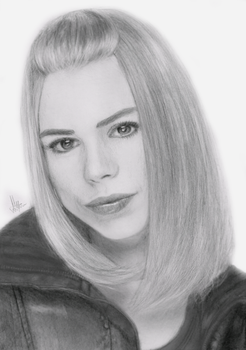 Rose Tyler by AngelofLonelyness