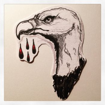 Vulture. by Farlatattoo