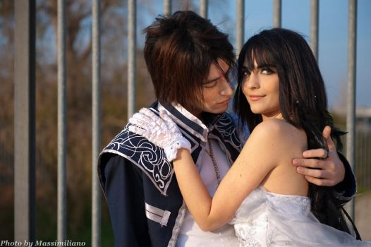 Rinoa and Squall Monty Oum by Eyes-0n-Me