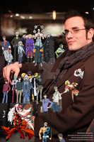 J. Michael Tatum character collage by EmSeeSquared
