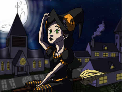 Juliette the Witch by Riffinger