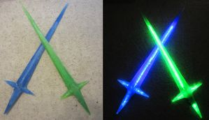 Takuto's Star Swords by Soynuts
