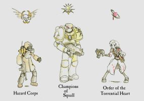 WH40k: The Emperor's Finest by Drawbba-The-Hutt