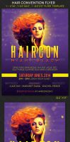 Hair Convention Flyer Template by Godserv