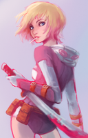 Gwenpool by Foxeaf
