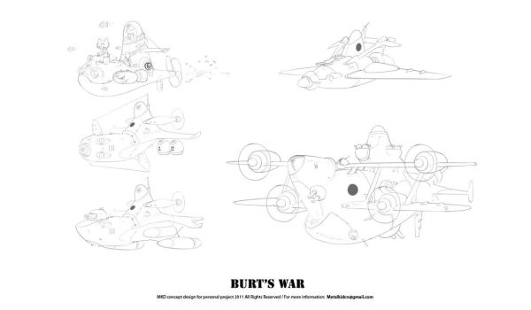 Bert'sWar Subs and Air by metalkid