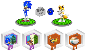 Playset and Power Disc: Sonic Boom by TDGirlsFanForever