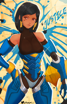 Rocket Queen Pharah by Dejaguar
