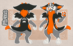 Nyme the Dutch Angel Dragon - Character Sheet by iPhysik