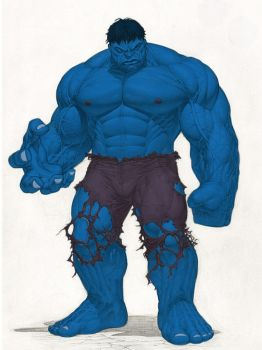 what if the hulk wAS ...? by zero172
