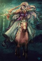 Princess Zelda by killergreenwp