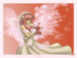 Losing my wings... - Color by Thally