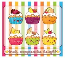 fruity cuppiecake delight by deadsleep