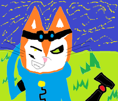 Old Blinx paint by BlinxDaTimeSweeper