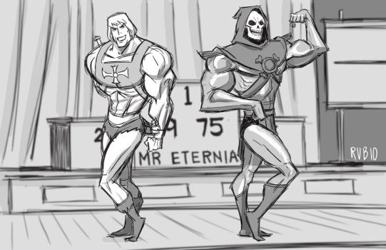 Mr. Eternia by BobbyRubio