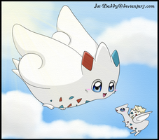 Togepi,Togetic and Togekiss