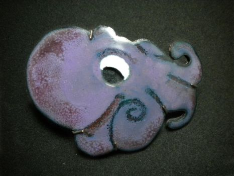 Octopus Brooch by JeweledScarab