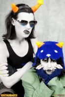 Nepeta and Equius by QPUPcosplay